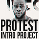 Protest Intro Project - VideoHive Item for Sale