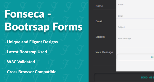 Fonseca - Bootstrap Forms