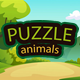 Animals Puzzle - HTML5 Game (capx)