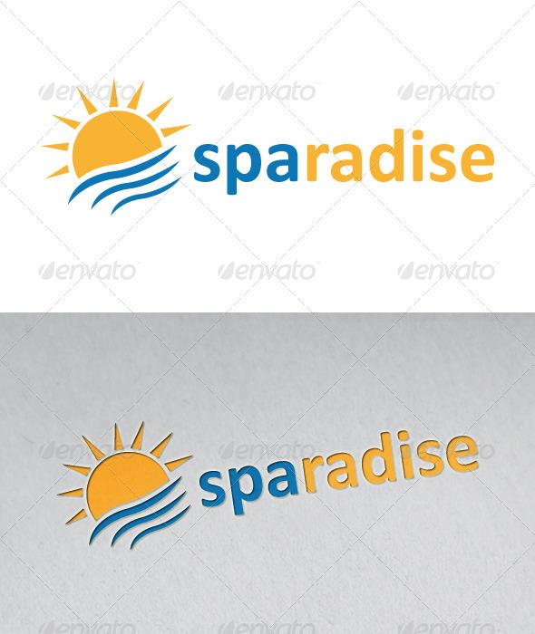 Sparadise Logo - Nature Logo Templates