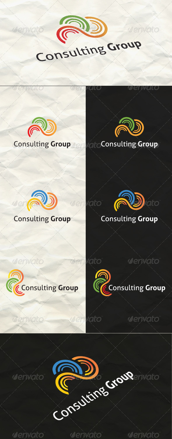 Simple Abstract Logo    - Abstract Logo Templates