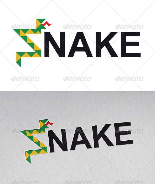 Snake Clothing Logo - Animals Logo Templates