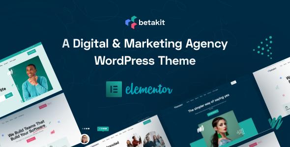 Download Betakit - Digital & Marketing Agency Theme }}