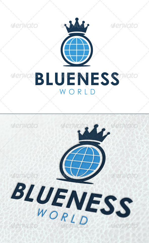 Blue World - Symbols Logo Templates