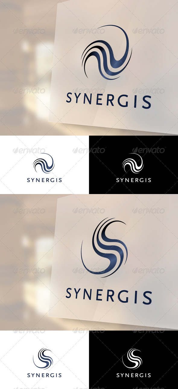 Synergis Logo Template - Vector Abstract