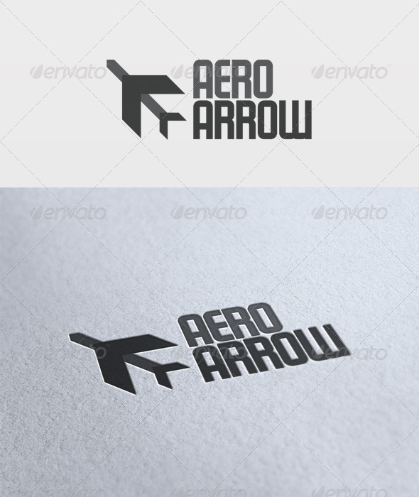Aero Arrow Logo - Vector Abstract