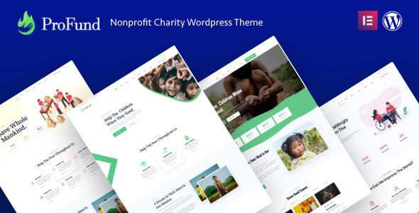 ProFund - Charity Theme