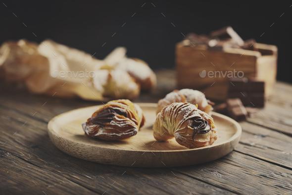 dessert of Naples aragosta - Stock Photo - Images