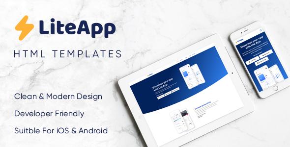 LiteApp - Software & Landing Template