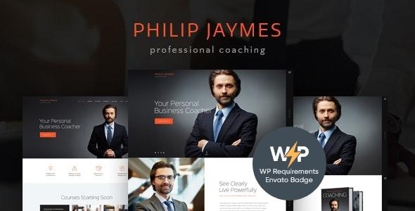 PJ   Life & Business Coaching WordPress Theme