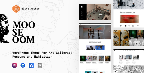Mooseoom - Art Gallery, Museum & Exhibition WordPress
