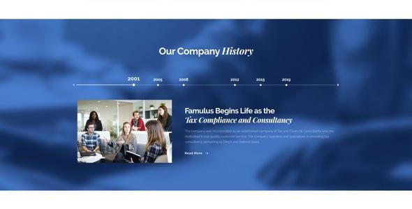 Famulus - Finance WordPress by TrueThemes   ThemeForest