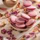 Pink French macarons - PhotoDune Item for Sale