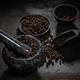 Marble mortar full of black peppercorns - PhotoDune Item for Sale