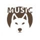 Energetic Bass Guitar Logo