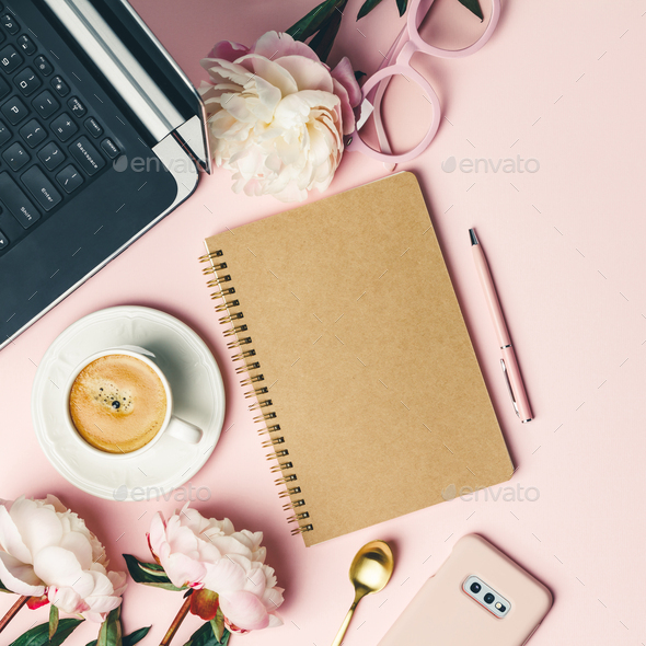 Home office table desk - Stock Photo - Images