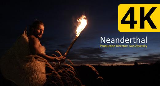 Homo neanderthalensis | 4K Footage