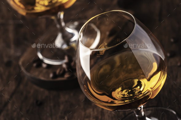Armagnac, French grape brandy - Stock Photo - Images