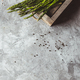 Asparagus in a wooden box. Healthy food, health on a concrete background - PhotoDune Item for Sale