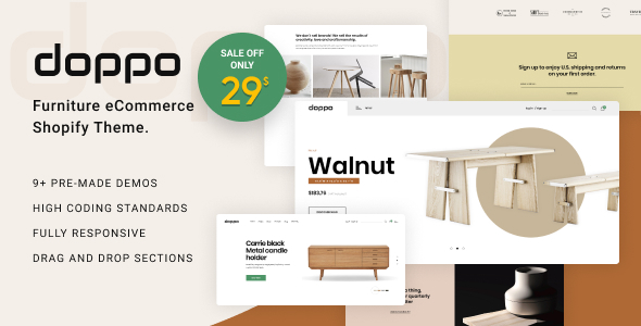Doppo – Furniture Multipurpose Shopify Theme