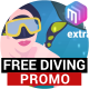 FREE DIVING | Promo video, commercial. - VideoHive Item for Sale