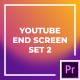 YouTube End Screen Set 2 | Essential Graphics - VideoHive Item for Sale