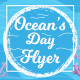 Ocean Day Flyer Template