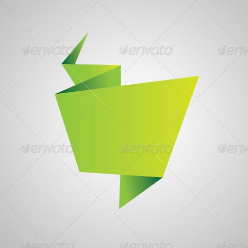 Origami vectors