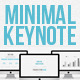 Minimal keynote HD widscreen presentation - GraphicRiver Item for Sale