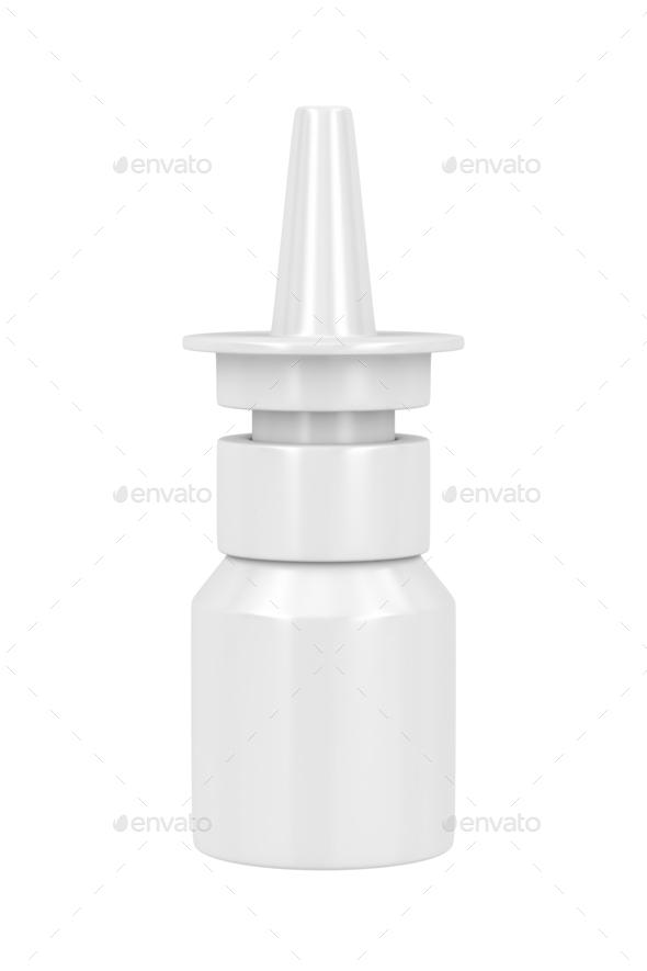 Nasal spray - Stock Photo - Images