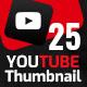 25 Youtube Thumbnail Templates