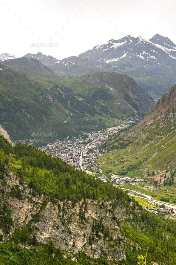 Val d'Isere - Stock Photo - Images