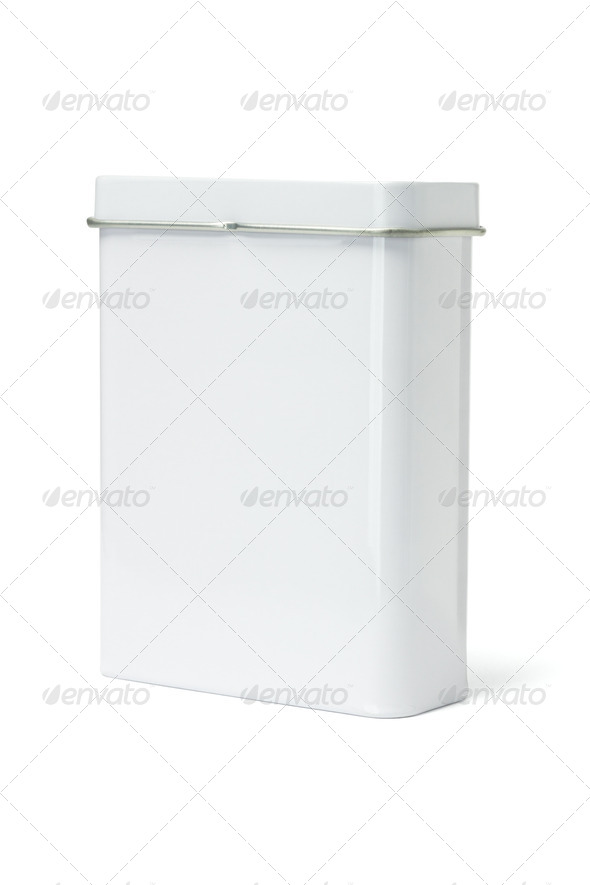 Blank Metal Container - Stock Photo - Images
