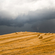 Landscape in Campania (Italy) near Benevento: a storm is coming - PhotoDune Item for Sale