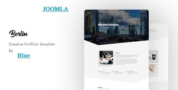 Berlin – OnePage Portfolio Joomla Template