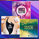 Electro - Music Album Cover Artwork Template Bundle 3