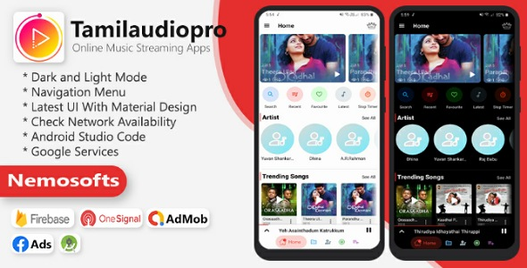 Tamilaudiopro - Online Music Streaming Apps }}