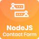 NodeJS Contact Form with Sequelize