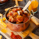 Bratwurst in a tomato curry sauce - PhotoDune Item for Sale