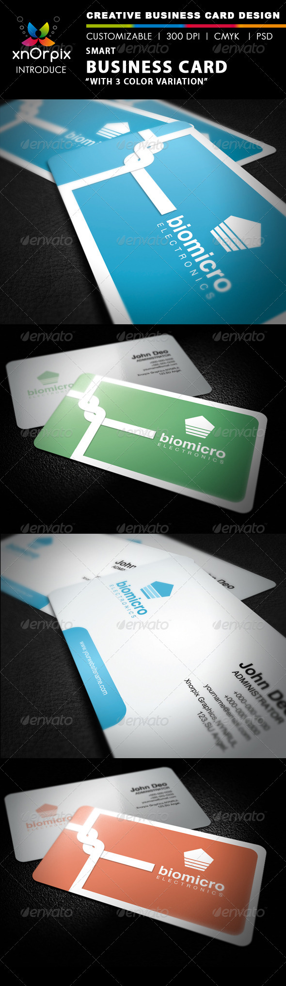 Smart Business Card - Corporate Business Cards