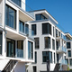 Modern white townhouses - PhotoDune Item for Sale