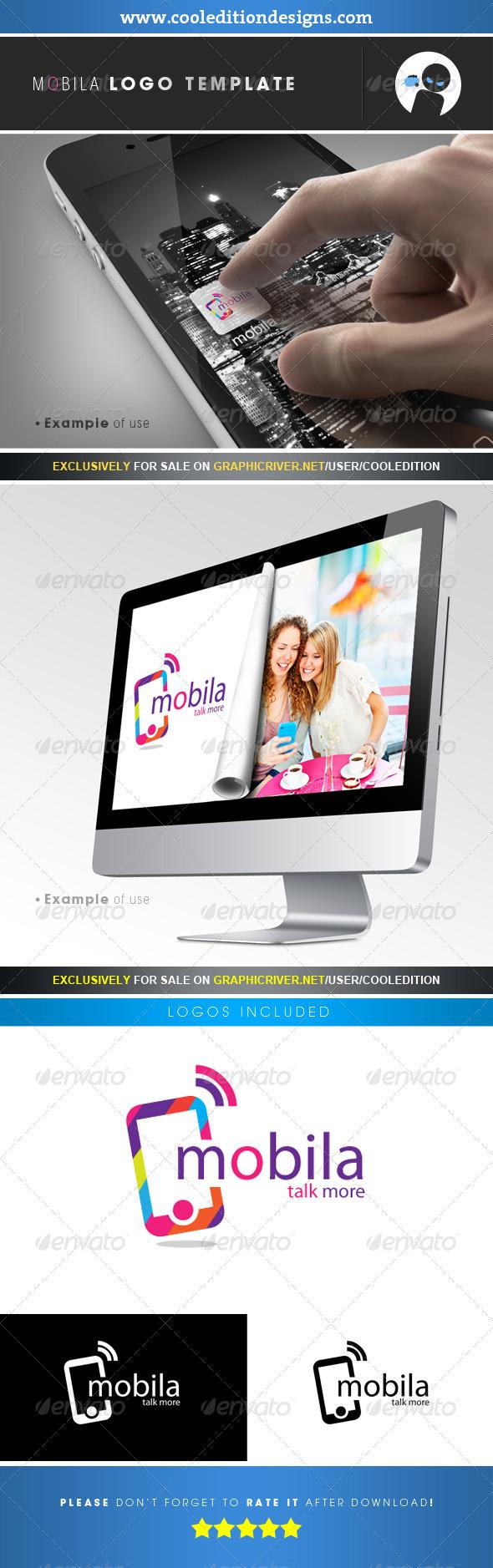 Mobila - Logo Template - Symbols Logo Templates
