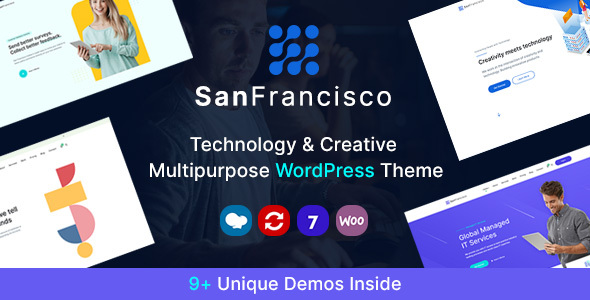 San Francisco - IT Technology and Creative WordPress Theme