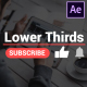 Youtube Lower Thirds   After Effects - VideoHive Item for Sale