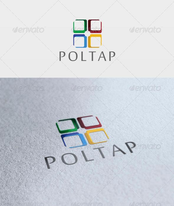Poltap Logo - Vector Abstract