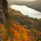 High angle view of Lake of the Clouds in the Upper Peninsula of Michigan during an autumn morning - PhotoDune Item for Sale