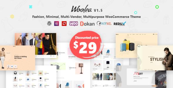 Woolea | Minimal WooCommerce Theme