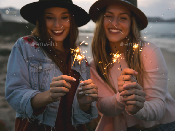 Time to celebrate happiness - Stock Photo - Images