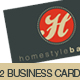Trendy Adaptable Business Card - GraphicRiver Item for Sale