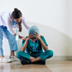 Nurse reassuring surgeon - PhotoDune Item for Sale